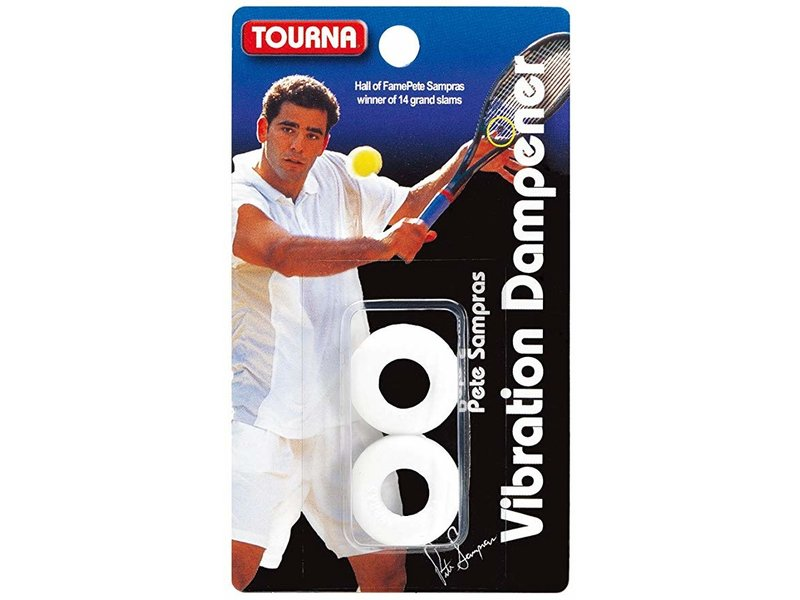 Tourna Pete Sampras Touna Vibration Dampener White