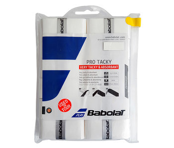 Babolat Pro Tacky Overgrip 12-Pack White