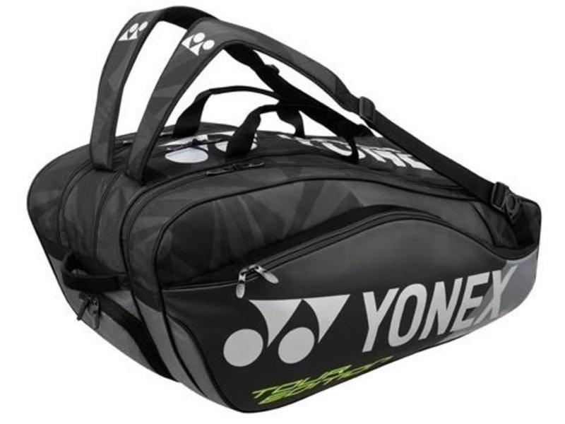 Yonex Pro Series 9-Pack Tennis Bag Black
