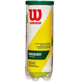 Wilson Championship Balls Regular Duty Tennis Balls Single Can