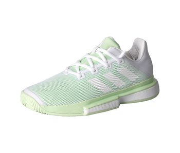 Adidas SoleMatch Bounce White/Green Women's Shoe
