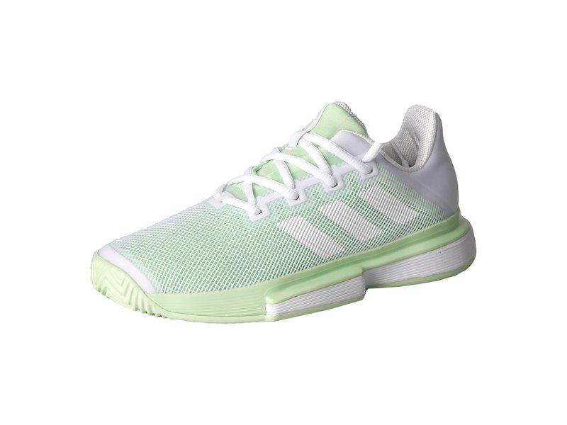 Adidas SoleMatch Bounce White/Green Women's Shoe