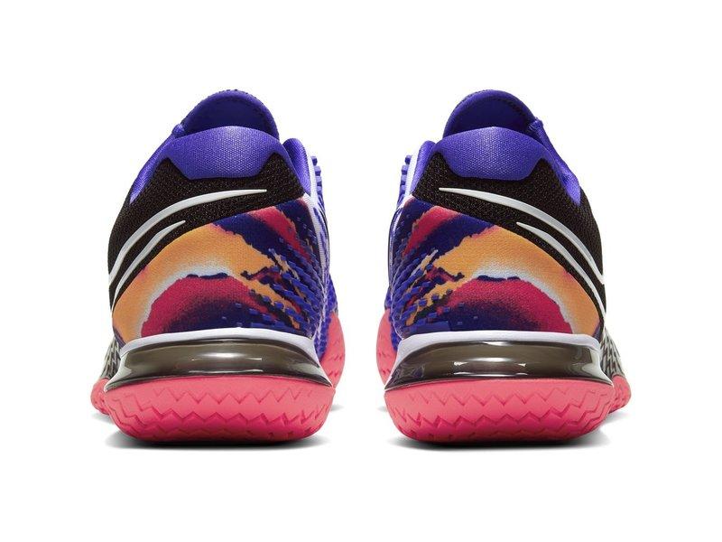 Nike Women's Vapor Cage 4 Tennis Shoes Black/White/Crimson/Violet