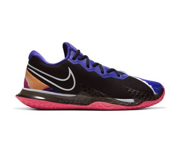 Nike Women's Vapor Cage 4 Tennis Shoes Black/White/Crimson/Violet