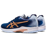 Asics Women's Solution Speed FF Tennis Shoes Peacoat/Rose Gold