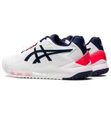 Asics Women's Gel Resolution 8 Tennis Shoes White/Peacoat Navy