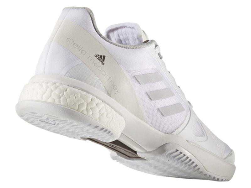 Adidas Women's Stella Court Boost Tennis Shoes White/Grey