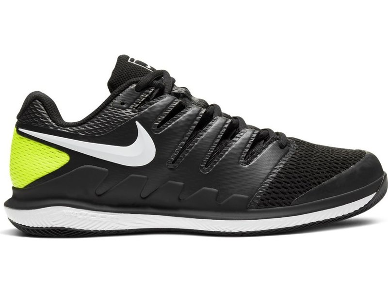 Nike Men's Zoom Vapor X Men's Tennis Shoes Black/White/Volt