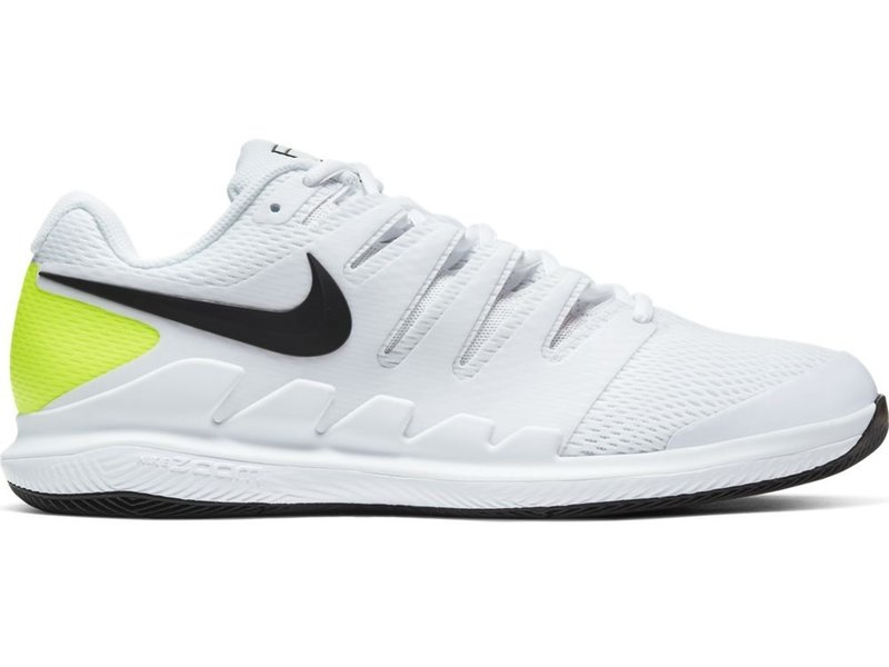 Men's Zoom Vapor X Tennis Shoes White/Black/Volt