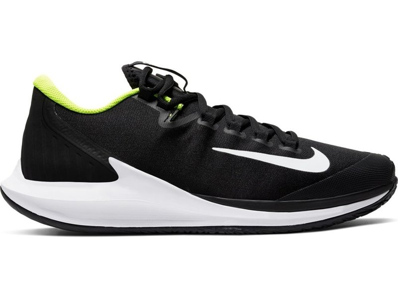 Nike Men's Air Zoom Zero Tennis Shoes Black/Volt