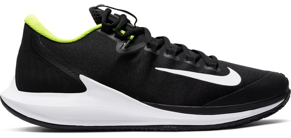 Air Zoom Zero Tennis Shoes Black/Volt