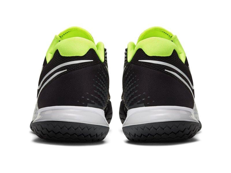 Nike Men's Vapor Cage 4 Tennis Shoes Black/Volt/Gray