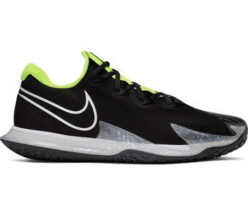 Nike Men's Vapor Cage 4 Tennis Shoes Black/Volt/Gray