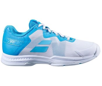 Babolat SFX3 All Court White/Blue Women's Shoes