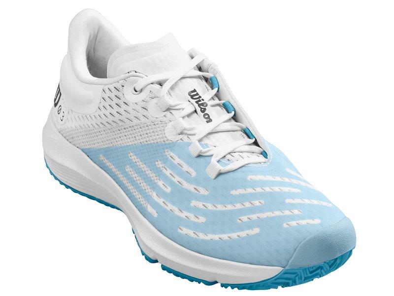 Wilson Kaos 3.0 Women's Tennis Shoes White/Blue
