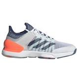 Adidas Adizero Ubersonic 2 White/Indigo/Coral Men's Shoe