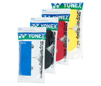 Yonex Super Grap Overgrip 30 Pack Colors