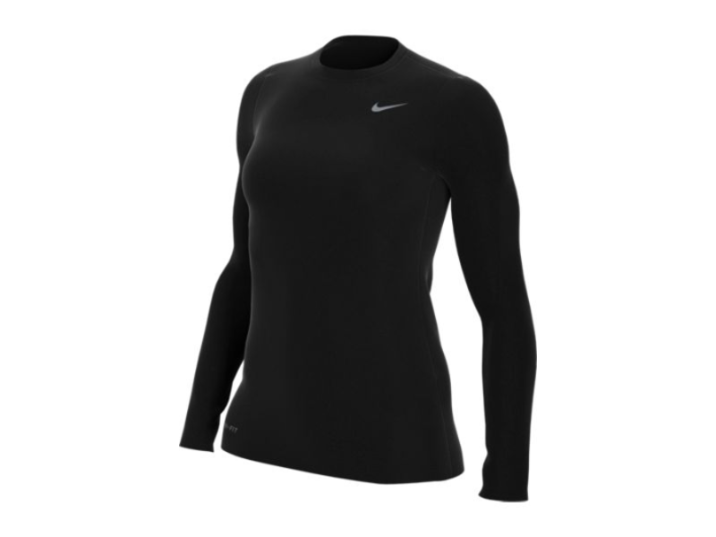 TennisTopia Northwest HS Ladies Long Sleeve Black with NW logo