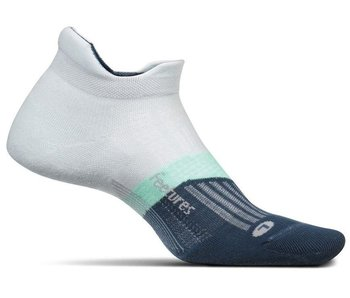 Feetures Elite Max Cushion No-Show Socks Morning Mist M