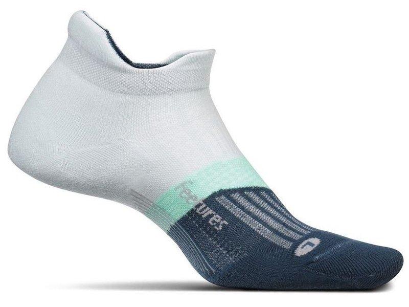 Feetures Elite Max Cushion No-Show Socks Morning Mist Medium