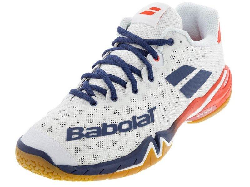 Babolat Shadow Tour Men's Pickleball Shoes White/Blue