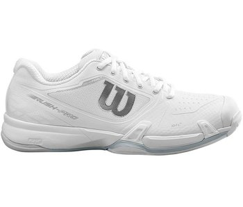 Wilson Rush Pro 2.5 Women's White Tennis Shoes
