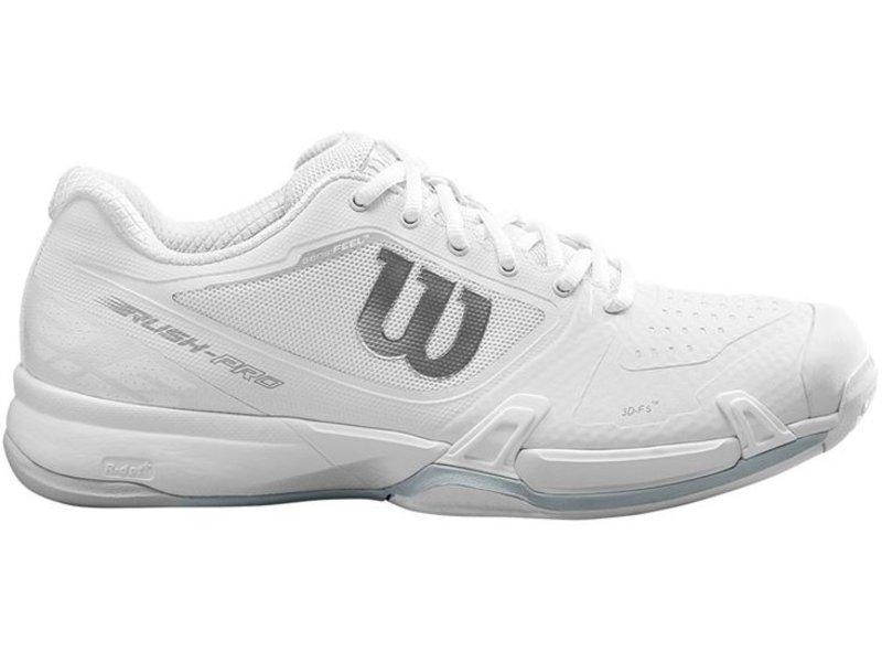 Wilson Rush Pro 2.5 Women's White Tennis Shoes