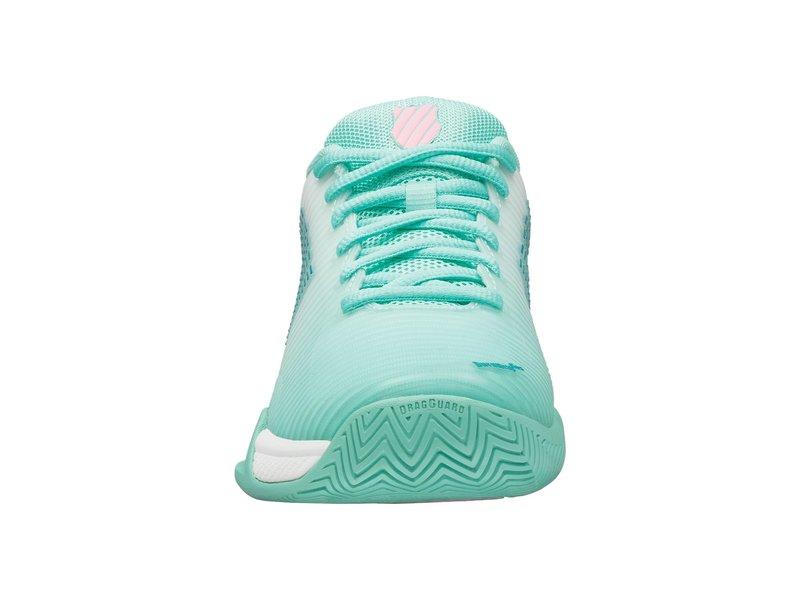 K-Swiss Women's Hypercourt Express 2 Tennis Shoes Blue/Wht