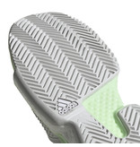 Adidas SoleCourt Boost White/Grey/Green Women's Shoe