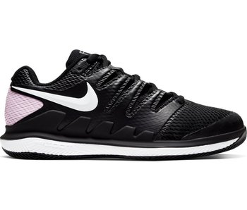 Nike Women's Air Zoom Vapor X Tennis Shoes Black/Pink