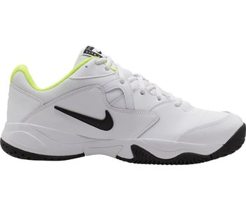 Nike Court Lite WIDE 2E White/Volt Men's Shoe