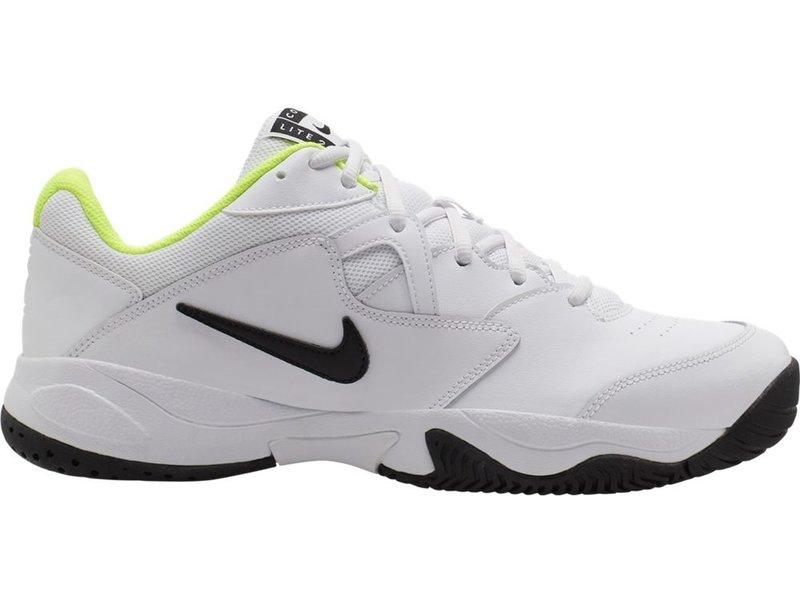 Nike Court Lite WIDE 2E White/Volt Men's Shoe