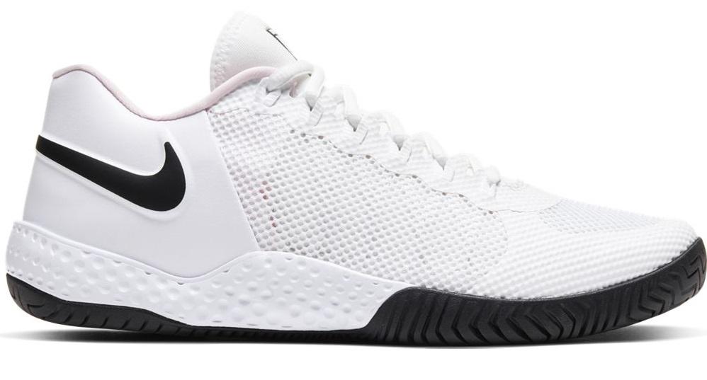 black white tennis shoes