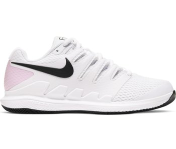 Nike Women's Nike Air Zoom Vapor X White/Pink Tennis Shoes