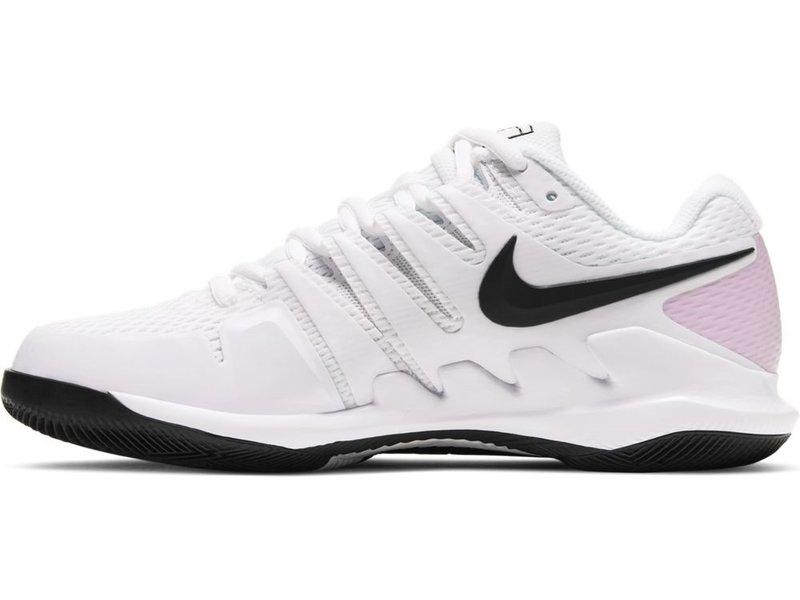 Nike Women's Nike Air Zoom Vapor X White/Pink Tennis Shoes
