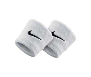Nike Swoosh Singlewide Tennis Wristband White