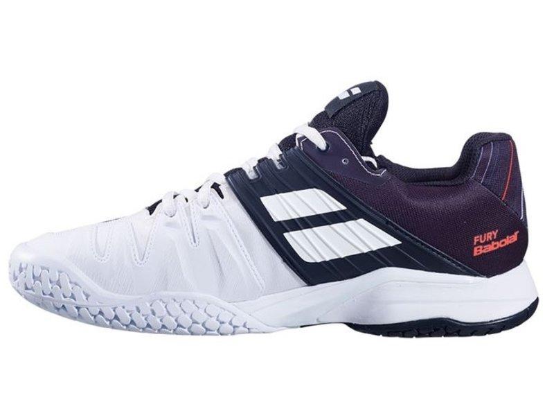 Babolat Propulse Fury White/Black Men's Shoe