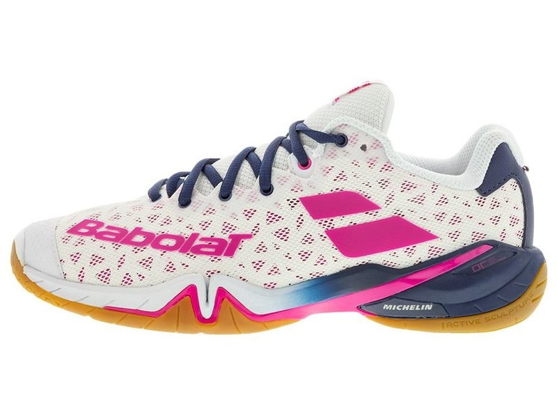Babolat Shadow Tour Pickleball White/Red Women's Shoes
