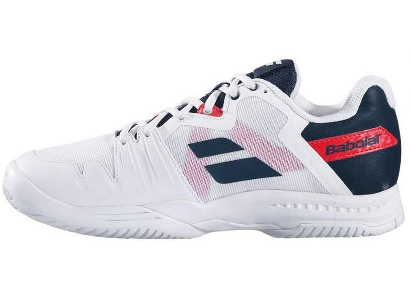 Babolat Men's SFX3 All Court Tennis Shoes White/Blue