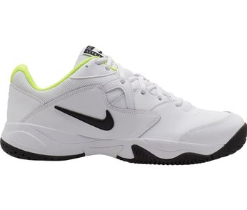 Nike Jr Court Lite 2 Junior Tennis Shoes White/Volt