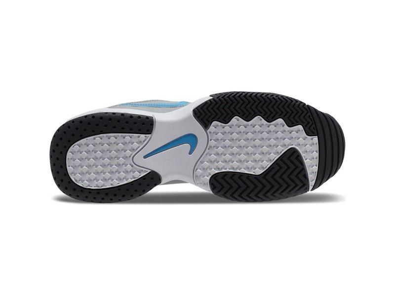 Nike Jr Court Lite 2 Junior Tennis Shoes Grey/White/Blue
