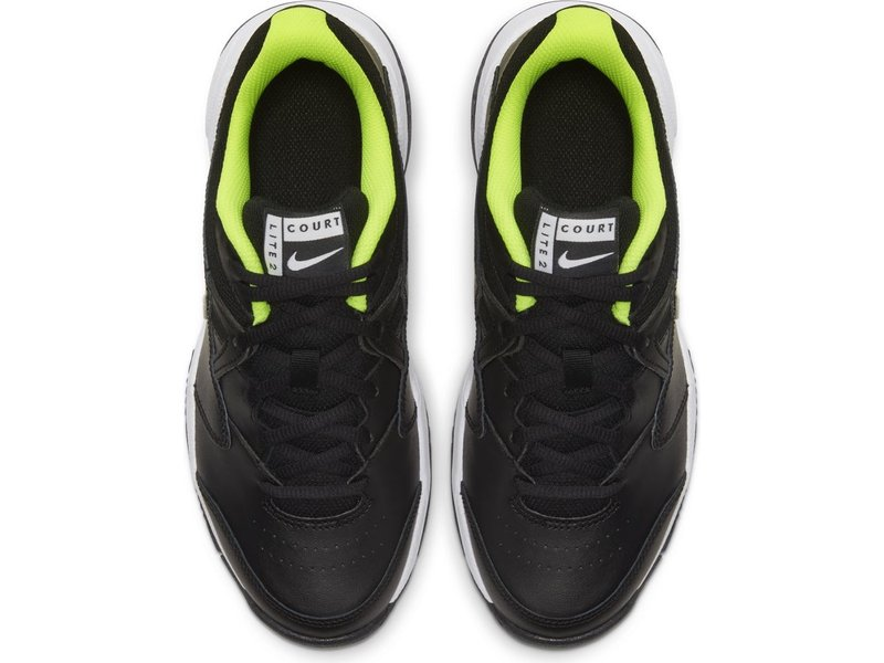 Nike Jr Court Lite 2 Junior Tennis Shoes Black/Volt