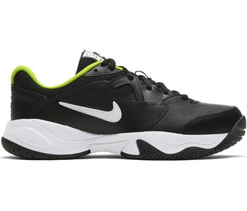 Nike Jr Court Lite 2 Junior Tennis Shoes Black/Volt