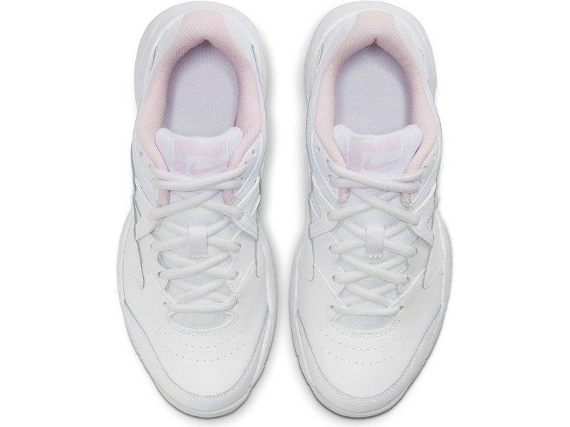 Nike Jr Court Lite 2 Junior Tennis Shoes White/Pink