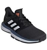 Adidas SoleCourt Junior Tennis Shoes Black/White