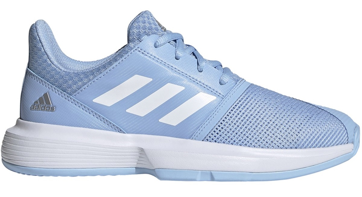 adidas CourtJam xJ Junior Kids tennis shoes blue/white