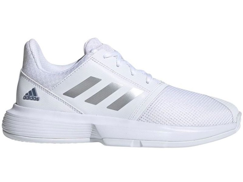 Adidas CourtJam xJ Junior Tennis Shoes Kids White/Silver