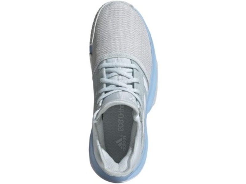 Adidas SoleCourt Light Junior Tennis Shoes Light Blue/White