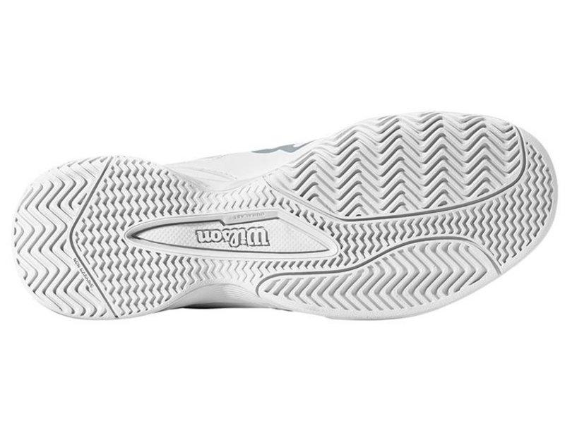 Wilson Rush Pro Jr QL Junior Kids Tennis Shoes White/Grey