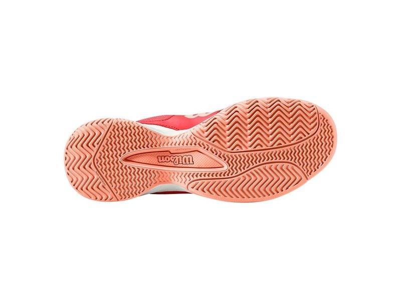 Wilson Rush Pro Jr QL Junior Kids Tennis Shoes Red/White